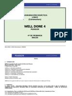 Well Done 4 LOMCE Programación Didáctica Extremadura