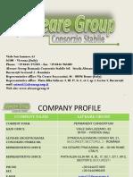 Brochure Alveare Group English