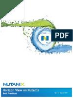 VmwareView-nutanix