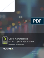 Citrix Xendesktop on Acropolis Hypervisor