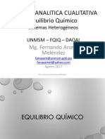 2. EquilibrioQuimico Sistemas Heterogeneos 2017
