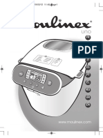 Manual Masina de Paine Moulinex OW310E-MO-BREAD MAKER UNO-En