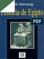 Hª de Egipto - Hornung, Erik