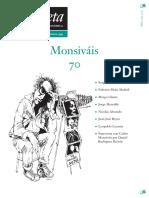 La Gaceta.Sobre Carlos Monsivais