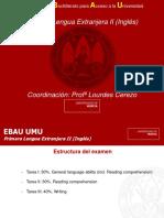 Estructura EBAU 2018