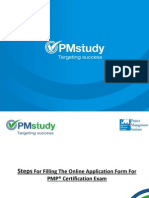 Filling the PMP Application