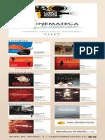 Cinemateca del Mediterráneo. Programación Octubre-Diciembre 2017. Fundación Caja Mediterráneo