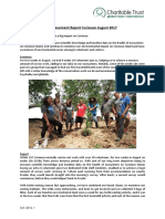 Seychelles Under 18s Achievement Report August 2017
