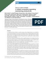 Ecosystem Regulating