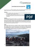 Cap Ternay Achievement Report August 2017