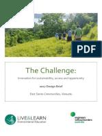 2017 Challenge_Live&Learn Vanuatu_Design Brief
