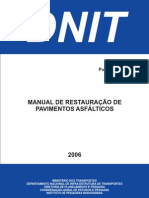 Manual de Restauracao ASFALTO DNIT