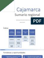 Cajamarca Sector Lacteo