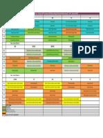 Calendar First Semester 2017_2018