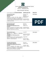 2016 Mir Dc Seminar Schedule