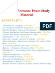 Botany - Important Questions and Answers, Entrance Exam, Study Material and Notes for all subject