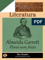 Flores Sem Fruto - Almeida Garrett - Iba Mendes