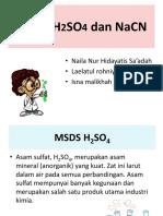 Msds h2so4 Dan Nacn