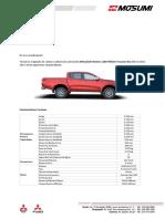 COM - Cotizacion Tipo L200 HiRider 2WD -