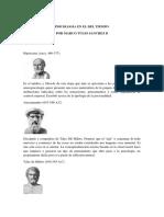 Psicologia en El Tiempo - Por Marco Tulio Sánchez B