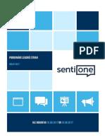 Lídři politických stran na sociálních sítích - analýza SentiOne