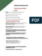 Examen de Publicación Web