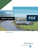 SOBEK 2.15.003 Release Notes