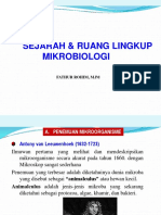 1 Kuliah 1 Sejarah Mikrobiologi