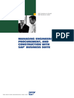 Managing Engineering, Procurement, And Construction With SAP Business Suite