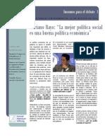 INCEP - Insumos para el debate 1 - Entrevista a Mariano Rayo