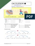 Y4 - Spelling Exercise 1 (1)