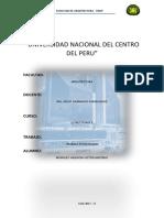 Resumen y análisis de estudios de suelos