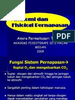 Anatomi&fisiologi pernapasan