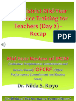 2016 District Mid-Year in-Service Training for Teachers