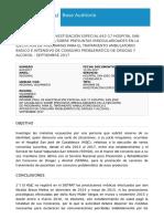 Informe de Contraloría por presuntas irregularidades en hospital de Casablanca