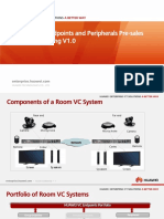 04-HUAWEI VC Endpoints and Peripherals Pre-sales Specialist Training V1.0