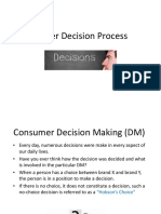 Buyer Decision Process