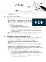 decision making outline