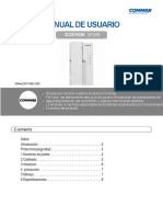 Manual Commax DP-2HPR(SP)