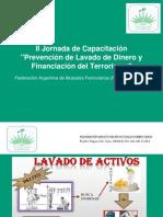 Prevención del Lavado de Activos y Financiación del terrorismo.