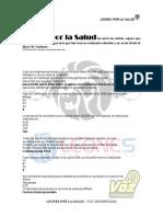 Banco BioMolecular 1er. Parcial SS, LEONES POR LA SALUD