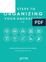 10 Steps to Organizing Your Hackathon by Agorize