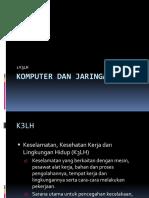 Materi Komputer Dan Jaringan Dasar 1 K3LH