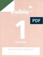 Cuadernillo Rubio Praxias 1
