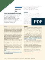 NCCN Guidelines Uterine Neoplasms, Version 1.2014