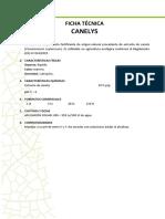 Ficha Tecnica Canelys