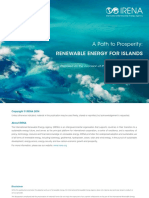 IRENA Renewable Energy for Islands 2014