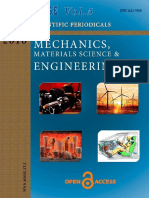 Mechanics, Materials Science & Engineering Journal  Vol.5 2016