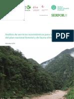 Analisis de Servicios Ecosistemicos Para La Elaboracion El PLNFFS