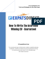The Complete Expats Cv Guide